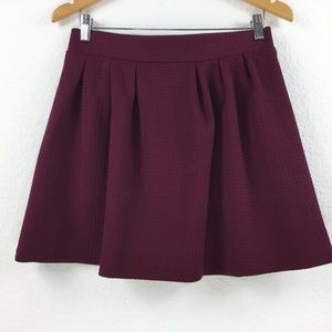 Candie's Wine Colored Women Skirt Size 9